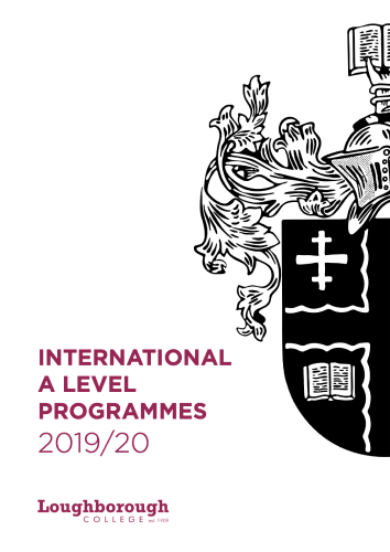International A Level Programme Guide
